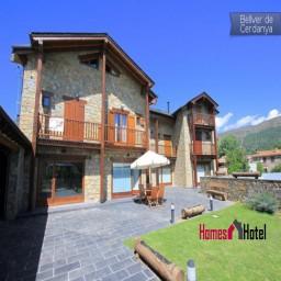Encantadora casa rural de piedra y madera